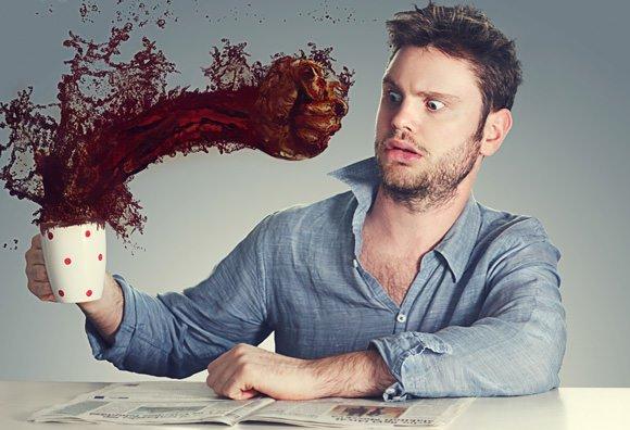 consumo de cafe afeta pressao arterial e gastrite